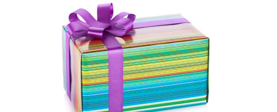 Colorful Gift Package